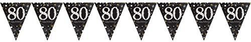 kette Sparkling Celebration 80 Jahre, Schwarz, Gold, Weiß ()