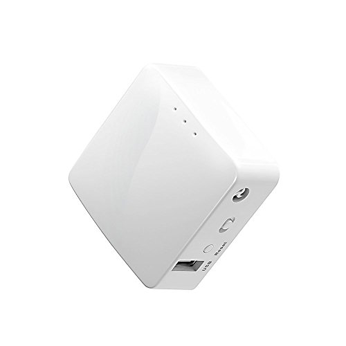 GL.iNet GL-AR150 Mini Travel Router, Wi-Fi Converter, OpenWrt Pre-installed, Repeater Bridge, 150Mbps High Performance, OpenVPN, Programmable IoT Gateway 3-input Und Tor