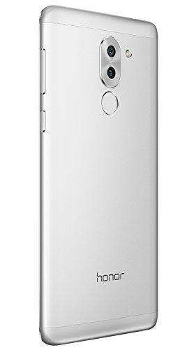 Honor 6X Smartphone portable débloqué 4G (Ecran: 5,5 pouces - 32 Go - Double Nano-SIM - Android 6.0 Marshmallow) Argent