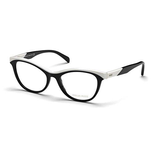 emilio-pucci-ep5036-004-occhiale-da-vista-nero-black-eyeglasses-sehbrille-new