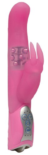 Smile Smile Pearly Bunny Pink Vibrator