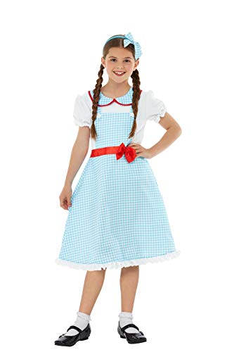 Smiffys 47766L Country Girl - Country Girl Kostüm Kinder