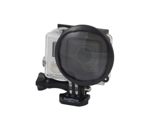 Polar Pro Filters GoPro Hero3+ Macro Glass Lens 2.2X Magnification Accessory