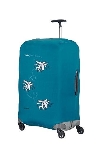 Imagen de samsonite keith haring collection suitcase cover l funda para , color azul travel