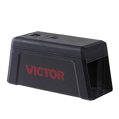 Victor Modernisierte Elektronische Rattenfalle - Geschlossene, Einfach Anzuwendende Elektrische Falle zur Effektiven Mäuse- & Rattenbekämpfung - Mod. M241 (Elektronische Rattenfalle)