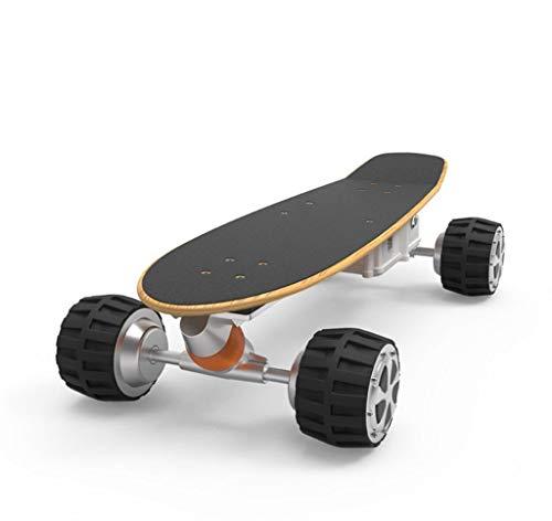 Y&XF Elektrisches Skateboard 4-Rad Smart Remote Scooter Intelligente APP-Steuerung Typ 79 * 37 * 20 cm 3500 W Motor, Höchstgeschwindigkeit 18 km/h, Reichweite 20 km Komfortabel (20 Roulette-rad)