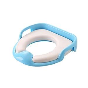 Asiento de Inodoro,Tapa WC Plegable para Niños,Asiento Reductor para bebé,Toilet Trainer Seat portátil adecuado para…