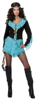 Wilbers Federbein EU 42/UK 14/16 und US 10 Damen Indian Squaw (Kostüme Pro Cheerleader)