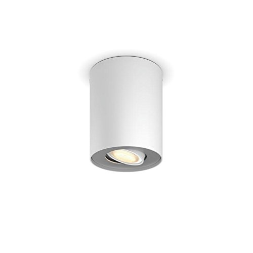 Philips Lighting Singolo EST. 5633031P8 Hue White Ambiance Faretto LED Spot Pillar...