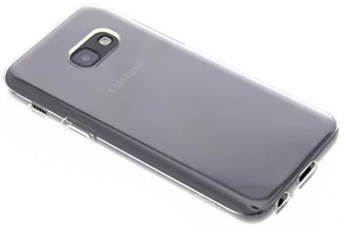Spigen 572CS21141 Liquid Crystal für Samsung Galaxy A3 2017 Hülle Flex Silikon Transparent Dünn Bumper-Style Handyhülle Premium TPU Durchsichtige Schutzhülle - Crystal Clear