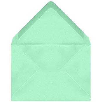 50 St/ück - passend f/ür DIN A6 Karten Briefumschl/äge blau // bright blue, 11,4 x 16,2 cm, DIN C6
