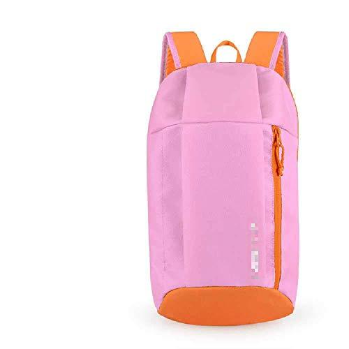 YJZZ Outdoor-Leichtbau Rucksack Freizeit Reise Sport Leinwand Tasche Klettertasche Männer Und Frauen Mini-Tasche 20 Liter oder weniger/rosa