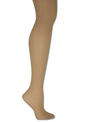 Donna Karan Hosiery Signature Sheer Satin Pantyhose, Plus Petite, Chocolate (Petite Satin)