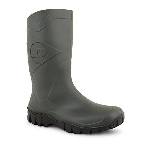 De Verdes Dunlop Galochas Welly Borracha Do Sapatos Botas Largura Homens Metade Comprimento De Vitela zXq1cffWH