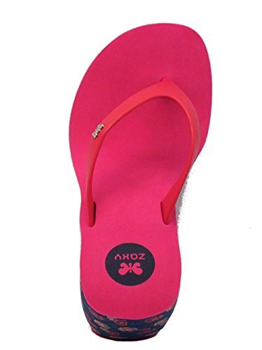 Zaxy Tongs Pour Femme Pink/Blue