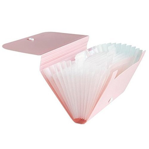 Carpeta expansible, color rosa