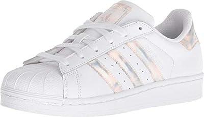 Adidas ORIGINALS Unisex-Kinder Superstar Sneaker, weiß/schwarz, 34 EU