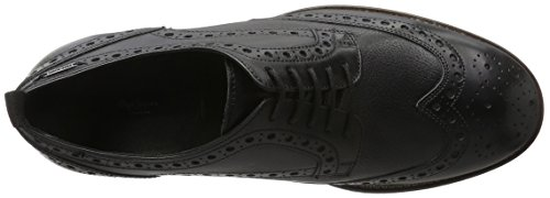 Pepe Jeans - Hackney Classic, Scarpe stringate Uomo Nero (Schwarz (Black 999))