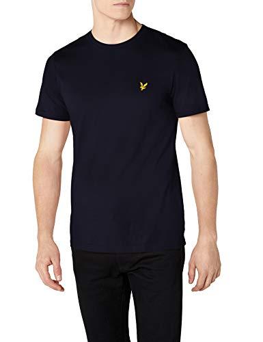 Lyle & Scott Herren Crew Neck T-Shirt, Blau (Navy Z99), X-Small
