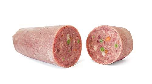 TACKENBERG XL-Barf Menü vom Geflügel mit Wild - Natürliche Frostfleisch für Hunde, 14 x 1000 g