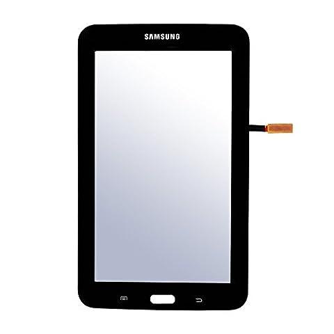 Frontglas Display Touchscreen Ersatzglas mit Digitizer und Werkzeug für Samsung Galaxy Tab 3 T110 (7,0 Zoll)