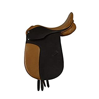 Campale Dressage Horse Saddle Oxford 18 Inch Leather Horse Dressage Saddle