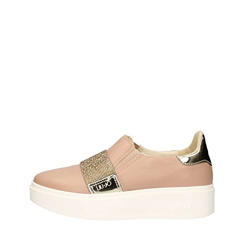 LIU JO SNEAKER SLIP-ON NAOKO S17133 P0273 sneakers donna, Rosa, EUR 36