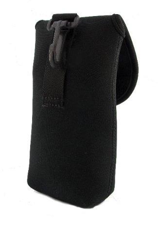 Top Custodia in Neoprene per flash/passante per cintura/tasca supplementare per pile/batterie