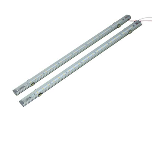 LIGHTEU, 2x linear light, 12V 5W, LED, cabin, under cupboard, Wall strip light, for Boat, Yacht, and Caravan, Campervan, Motorhome, RV,