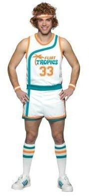 Semi-Pro Jackie Moon Flint Tropics Kostüm PLUS (Ruhm Kostüme)