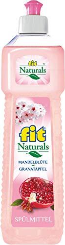 fit Naturals Spülmittel Mandelblüte Granatapfel exotischer Duft 750ml