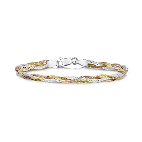 ambertar-joyeria-pulsera-fina-plata-de-ley-925-cadena-de-espiguilla-5-mm-19-cm
