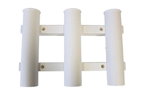 Berkley Tube Rod Halter/Rack mit 3Ruten, Herren, Tube, weiß