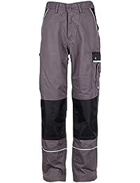 TMG® Herren Arbeitshose | Cargo Bundhose mit Kniepolster-Taschen