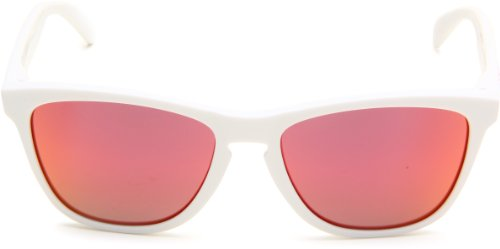 Oakley Fuel Cell Lunette de soleil homme Polished white / Ruby iridium