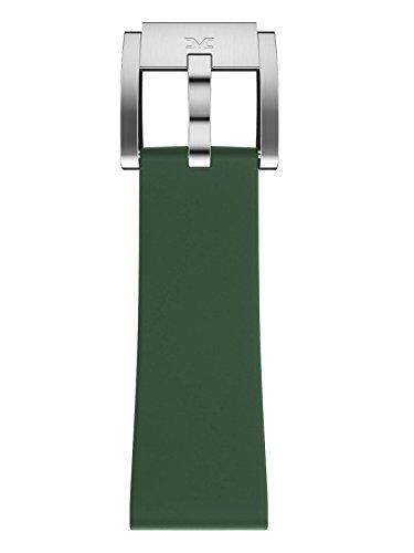 TW Steel Marc Coblen Armband Uhrenband Uhrenarmband Silikon 22 MM Dunkelgrün SB_DG_S