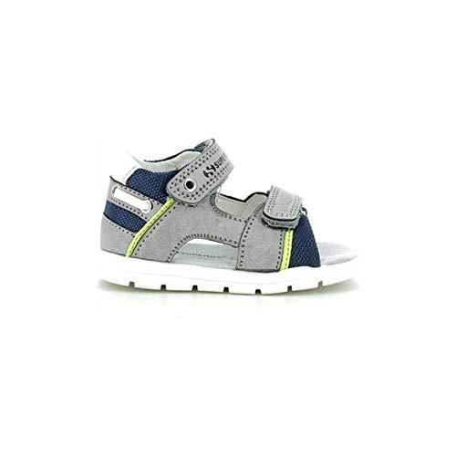 Superga Scarpe Baby Sandali Pelle Grigia S13R877-GRIGIO