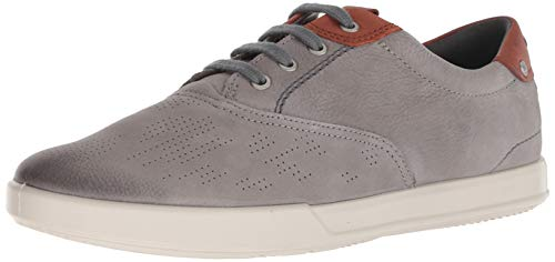 ECCO Herren Collin 2.0 Sneaker, Grau (Warm Grey/Cognac 58267), 42 EU -