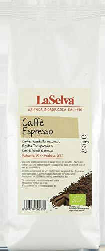 La Selva Bio Caffè espresso, gemahlen (6 x 250 gr) (La Selva)