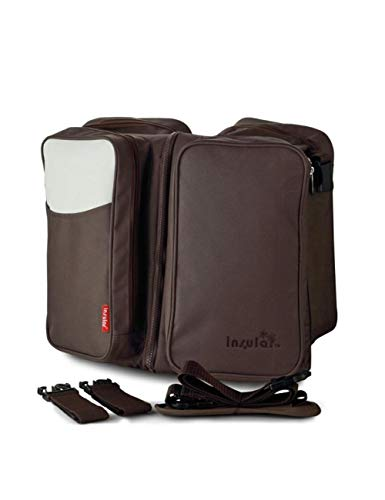 KHBHJ Babyreisebett Tragbare Große Kapazität Wickeltasche Faltbare Krippe Multifunktions Pflege Mummy Bag Multifunktions, Kaffee