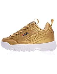 official photos 0d559 8f893 FILA Unisex Disruptor II 2 Premium Damen Running Turnschuhe Trainers Schuhe