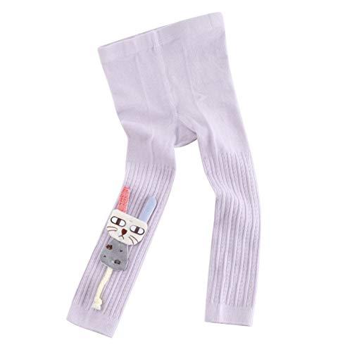 ESHOO Kleine Mädchen Leggings Baumwolle Footless Strumpfhosen Niedlichen Cartoon Kleinkind Hosen 0-6 Jahre -