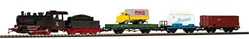 Piko 97913Start Set Locomotora de Vapor con Tender Tren de Mercancías szd, Vehículo de Carril