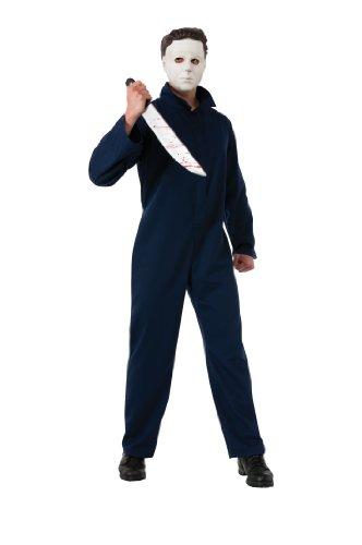 Michael Myers Halloween Kostüm Herren Gr. M-XL, Größe:M/L (Michael Myers Erwachsene Herren Kostüme)