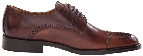 Kenneth Cole Travel Agent, Brogues Homme Marron (Brown 200)