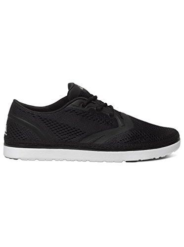 Quiksilver Aqys700001, Baskets Basses Homme Noir - Black/Black/White