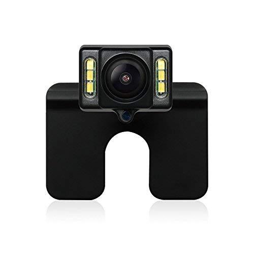 AUTO-VOX Cam1 Caméra de Recul Vision Nocturne LEDs avec Capteur-G Caméra Arrière de Plaque d'immatriculation IP68 Imperméable Adapté à La Plupart des Modèles