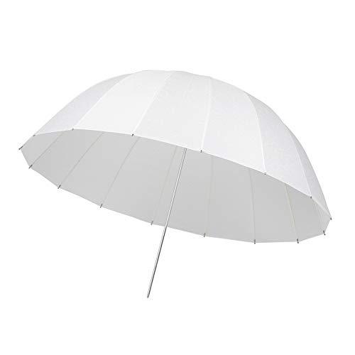 Allibuy Zusammenklappbarer Multi Lichtreflektor 42-Zoll-Fotografie Umbrella Lighting Kit Dauerreflektor leuchtet weiß durchscheinend weichen Regenschirm für Foto Portrait Fotografie Beleuchtung Umbrella Kit