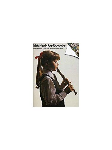 Irish Music For Recorder. Partitions pour Flûte à Bec(Symboles d'Accords)