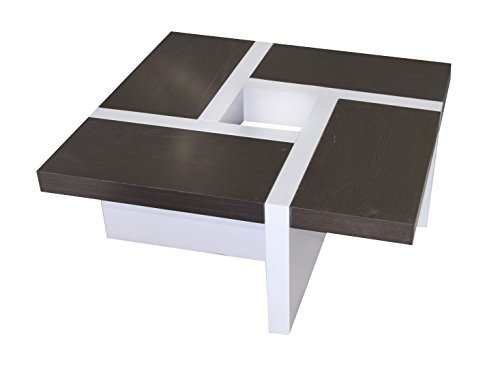 Rebecca Mobili Table de Salon Table Basse Bois Design Moderne Sejour Lounge (Cod. re4012)